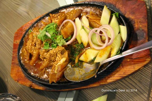 Hot plate cuttlefish
