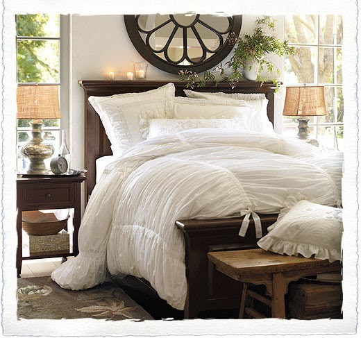 Life In The Countryside The All White Bed