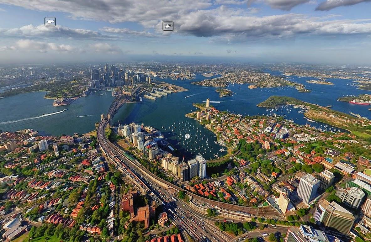 Сидней, Австралия,  • 360° Аэрофотопанорама