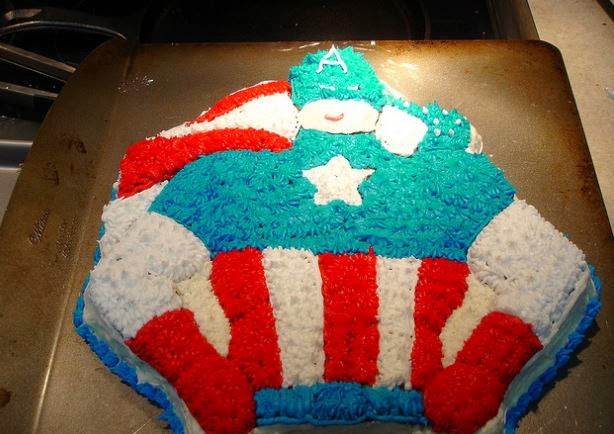 50 Best Captain America Birthday Cakes Ideas And Designs Page 4 of