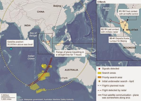 Rong ra 1 nam tim kiem MH370