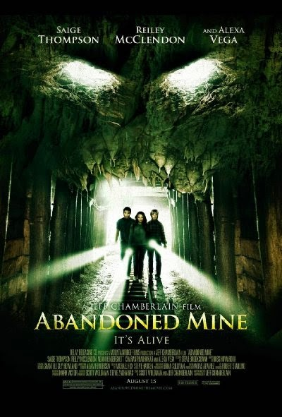Poster Of English Movie Abandoned Mine (2013) Free Download Full New Hollywood Movie Watch Online At Alldownloads4u.Com
