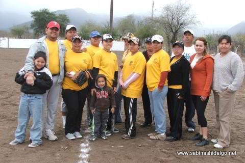 Equipo Chicas Sertoma del torneo femenil de softbol del Club Sertoma