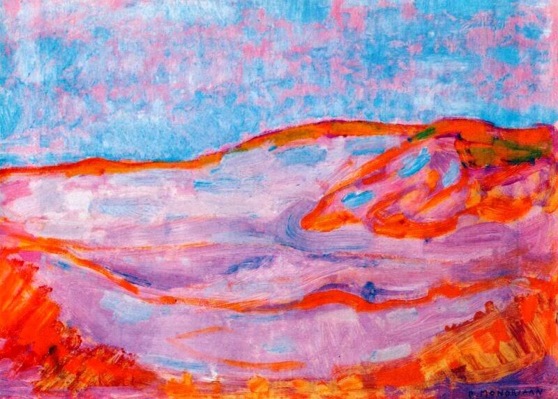 Piet Mondrian - Dune IV, 1909-1910