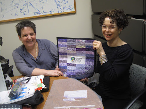 Dr. Michelle Ehrlich and Paula Nadelstern at Mount Sinai School of Medicine