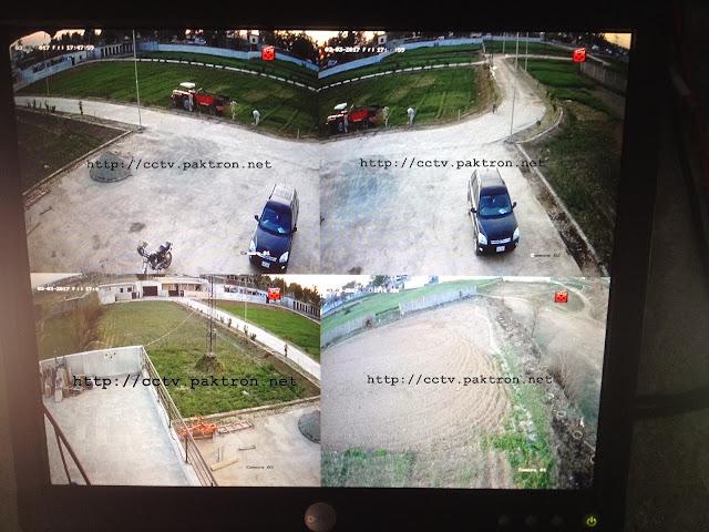 4 Cameras Hikvision CCTV System Display Paktron CCTV Pakistan