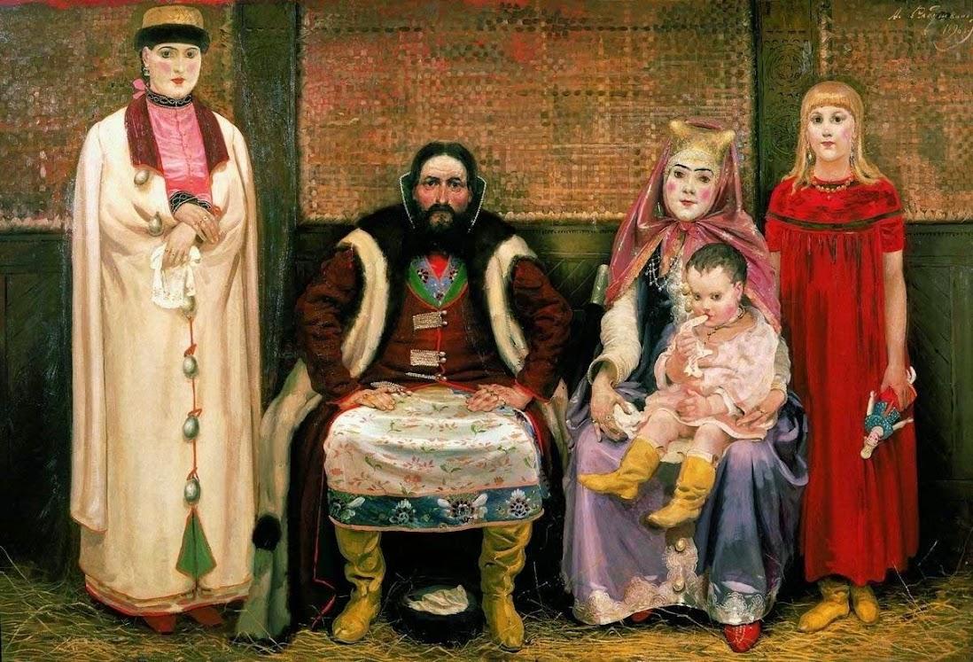 Картины Рябушкина