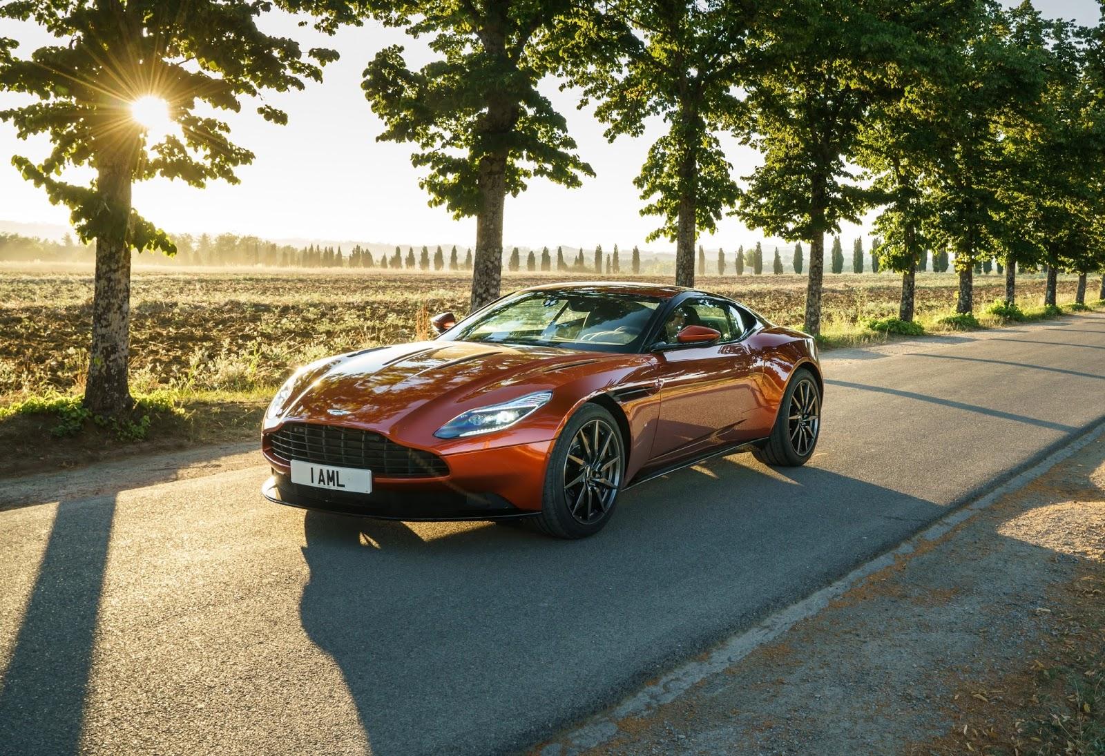 Aston Martin DB11 đích thực là siêu xe đẹp nhất trên thế giới