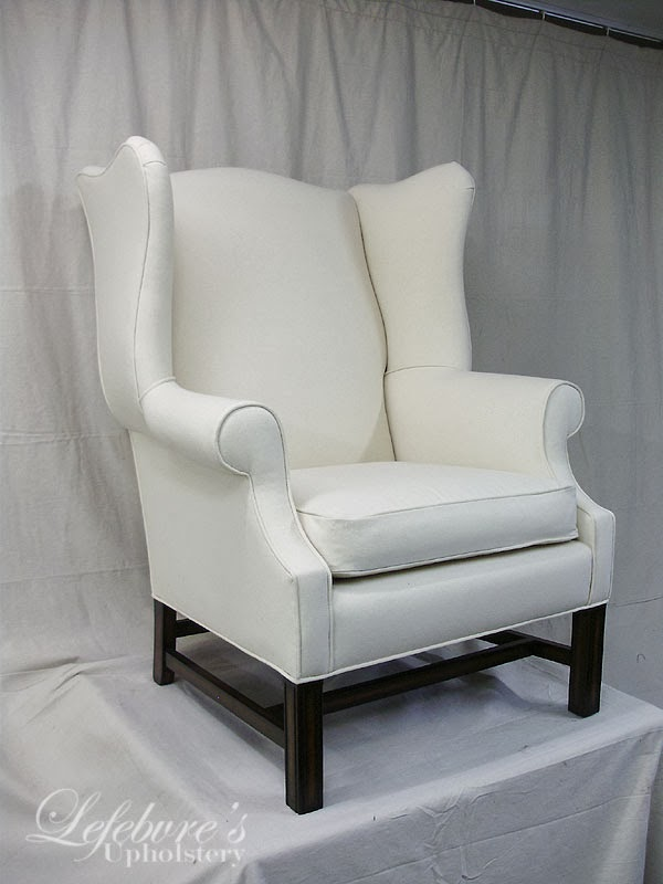 Lefebvre S Upholstery High Quality Eaton Wing Chair