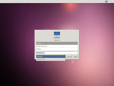 LightDM Ubuntu 11.10 Oneiric Ocelot