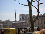 Notre Dame from our cafe