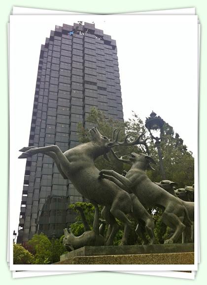 Escultura al Jardi Jaume Vicens i Vives