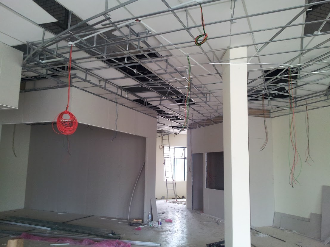 Kinrara puchong selangor design and build new office for Plaster ceiling design price