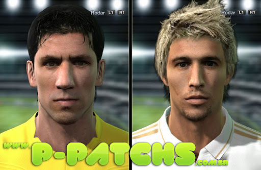 Capdevila e Fábio Coentrão Faces P-Patchs Pes 2011 Download