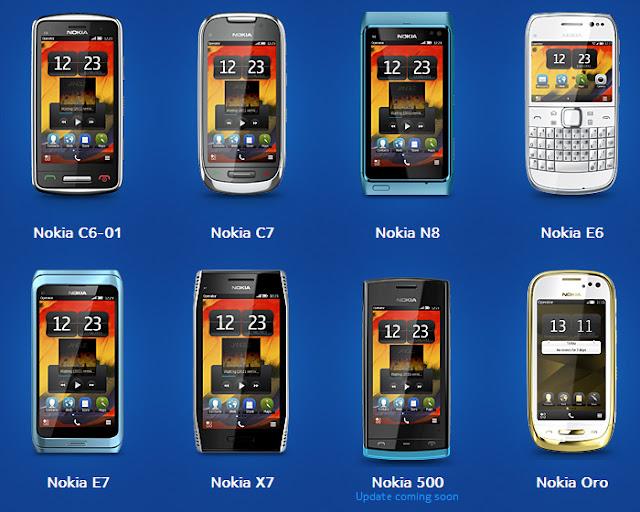 Symbian Belle Compatible Phones