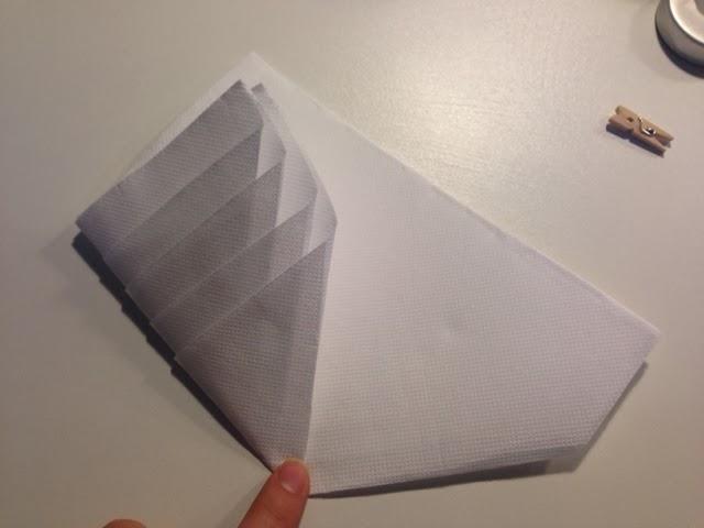 Diy pliage de serviettes en forme de sapin caract rielle - Serviette en forme de sapin ...