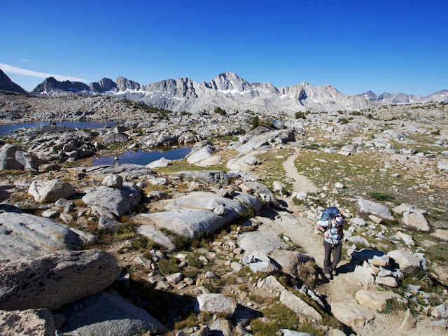 sierra backpacking