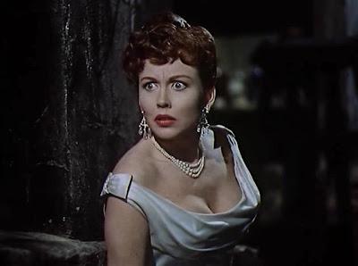 Hazel Court, una bella mujer y una gran actriz.