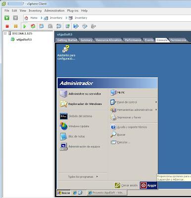 Ampliar tamaño hd máquina virtual W2003 en VMware ESX, ESXi, vSphere