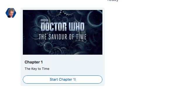 Image result for doctor who skype bot