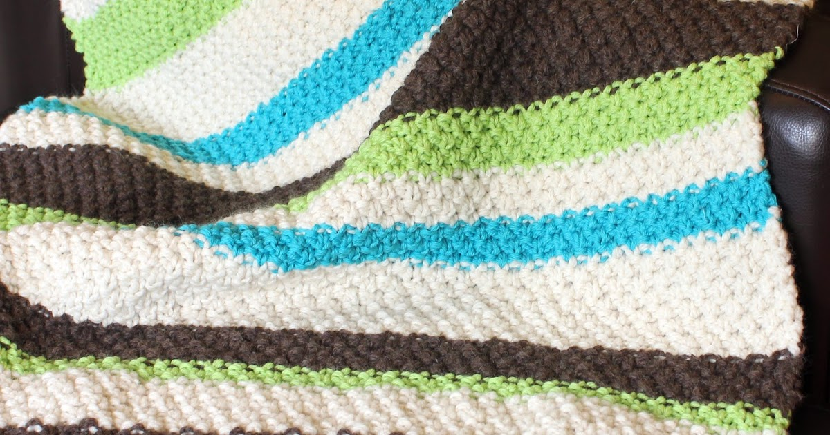 Baby Blanket Knitting Pattern Circular Needles : skadoot: original designs: Learn to Knit: Free & Easy Baby ...