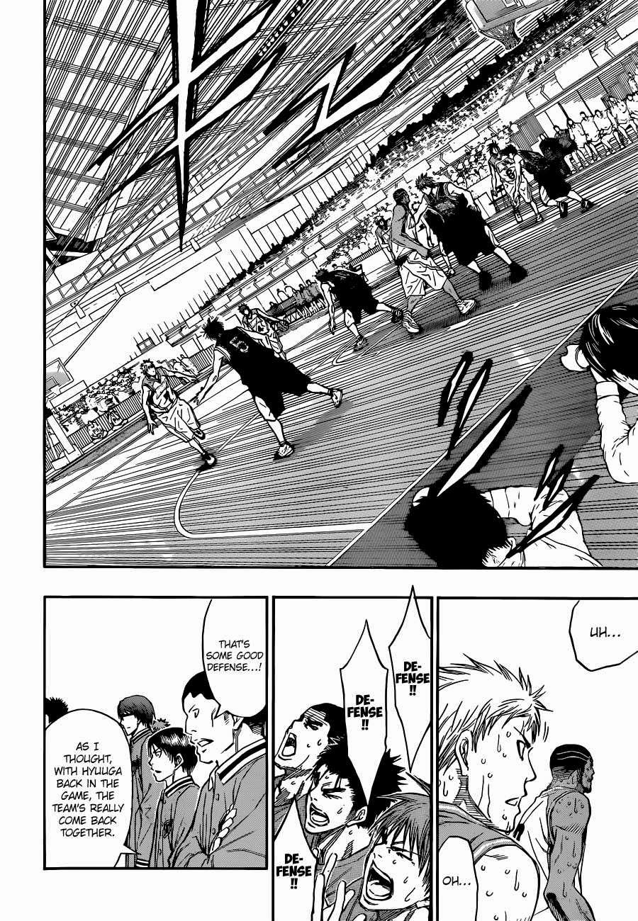 Kuroko no Basket Manga Chapter 258 - Image 06