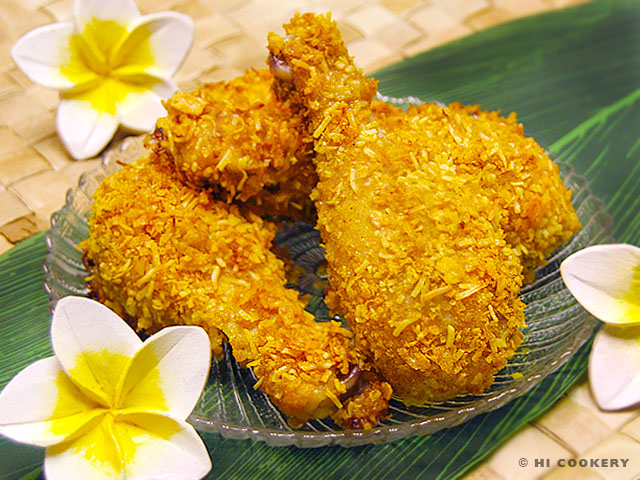 Corn Flake Hawaiian Chicken