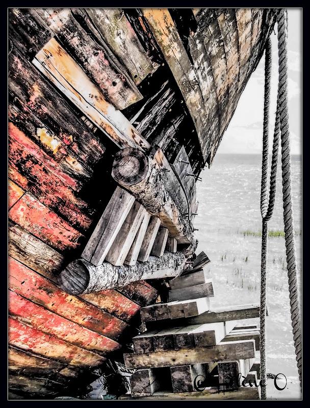 un vieux bateau échoué Bateau5