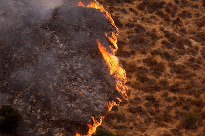 Brush Fires - Sylmar, California (Sept. 2009)