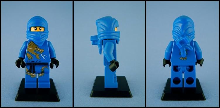The Ugly Duckling: LEGO Ninjago Minifigures - Jay DX