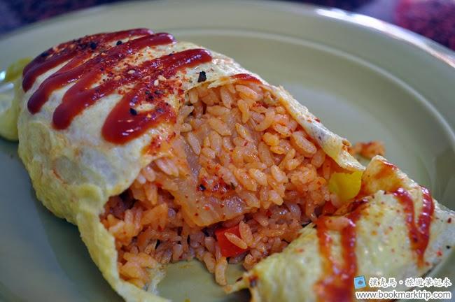 澤川蛋包飯韓式泡菜蛋包飯