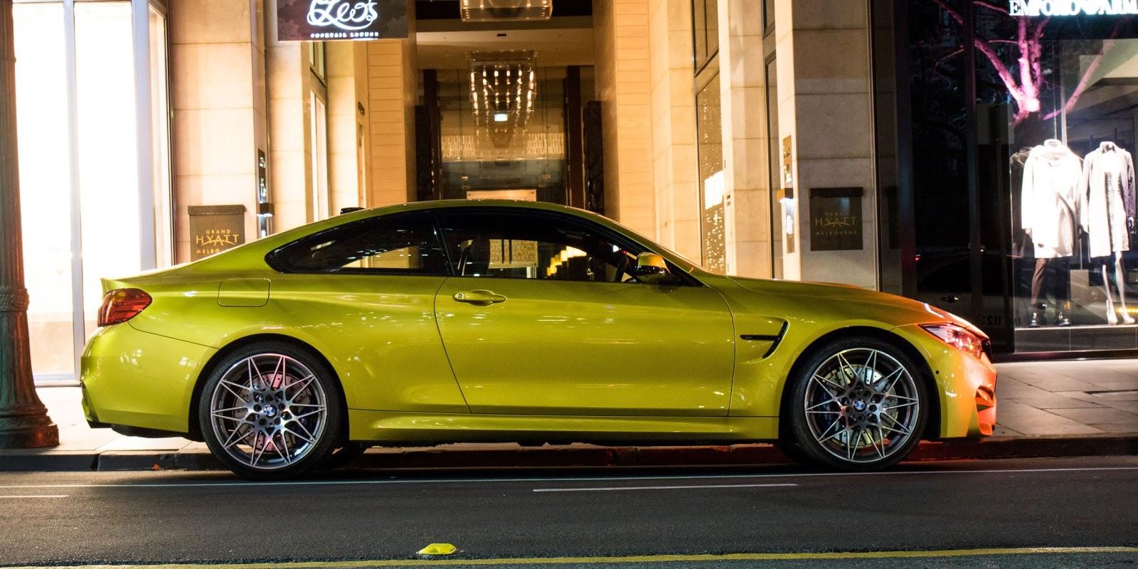 Nếu đi trên phố, thực sự BMW M4 Competition là một ngôi sao