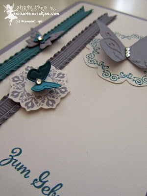 stampin up, birthday, schmetterlingsgarten, daydream medaillons, floral frames, in worte gefasst