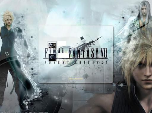 Windows 7 pantalla de inicio Final Fantasy