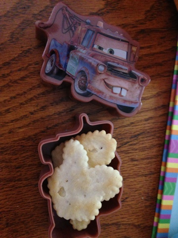 "Tow Mater Easter ""eggs"""
