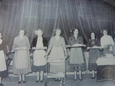 Little Shelford WI Mrs Hodgekinson, Rowe Jennings, Joyce walker, Mrs Hudson, Molly Marhs, Betty Kennedy, Mary ?