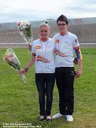 Nos 2 Champions Jennyfer et Maxime