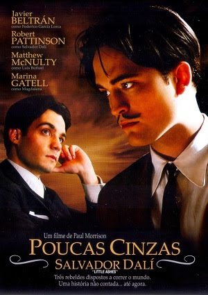 Filme Poster Poucas Cinzas - Salvador Dalí DVDRip XviD Dual Audio & RMVB Dublado