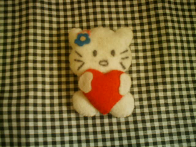 Decore as suas chaves com um bonito chaveiro da Hello Kitty