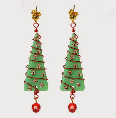 Deck the Halls Earrings by Beadaholique