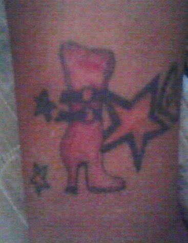 Fã Clube Oficial Somoscalypso Fã Faz Tatuagem Dedicando