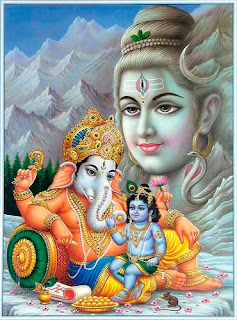 Hindu Gods Adopted By The Elephant God Image