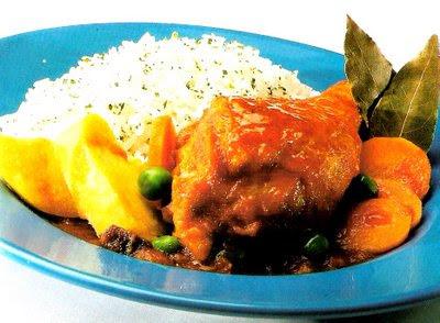 Estofado de Pollo Ecuatoriano Estofado de Pollo Pag