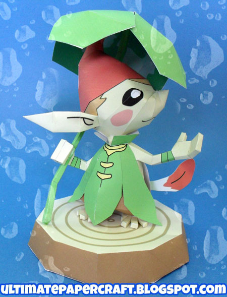 Forest Picori Minish Papercraft