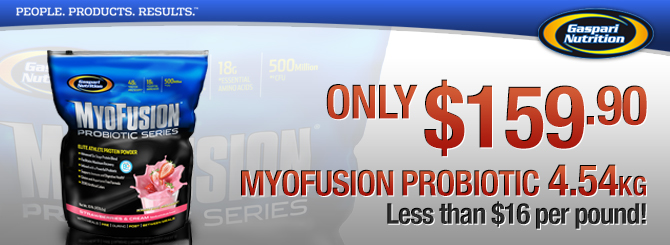 Myofusion Probiotic Protein for only $159.90