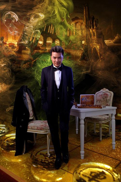 Lộ diện ảnh quảng cáo của Đàm Vĩnh Hưng cho Ongame 1