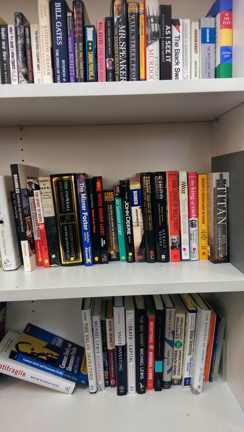 Bookshelf Day 1