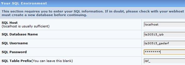 Inserindo os dados do banco de dados.