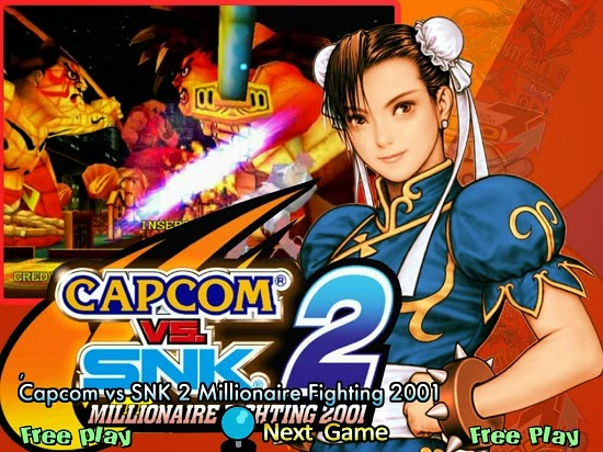 Capcom vs SNK 2 Millionaire Fighting