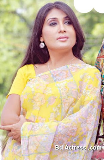 Bangladeshi Model and Actress Bonna Mirza